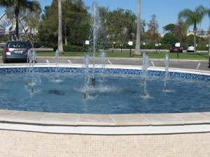 Beautiful Fountain Feature St. Pete Office